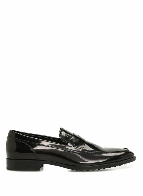 Tod's %100 Deri Loafer Ayakkabı Siyah